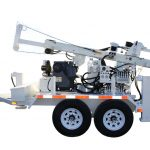 simco 2400 sk1 trailer mounted drilling rig