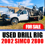 used simco 2800 drilling rig for sale